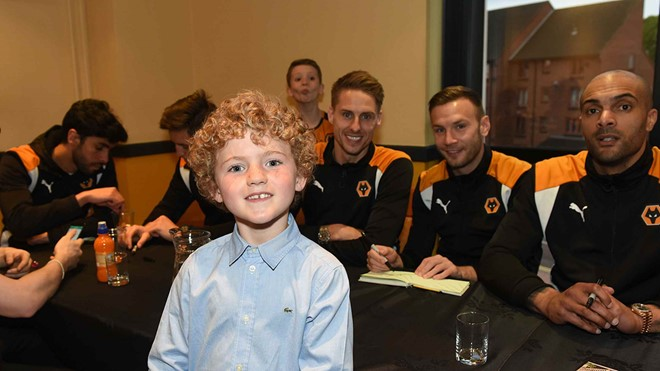 Young Wolves End of Season Dinner 2017